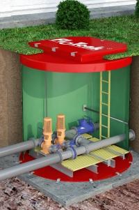 Станция повышения давления воды